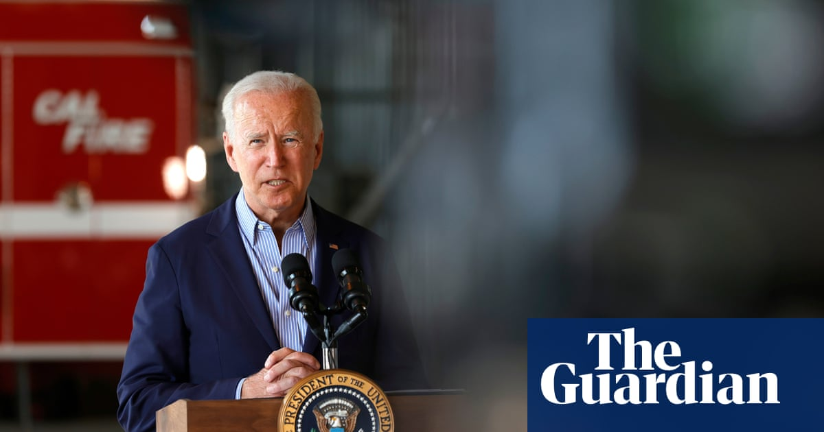 Biden says wildfires highlight climate emergency