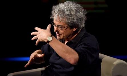 Carlo Rovelli on Italian TV.