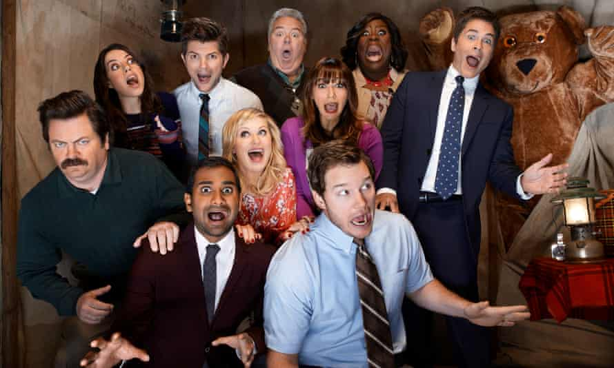 Parks and Recreation cast.