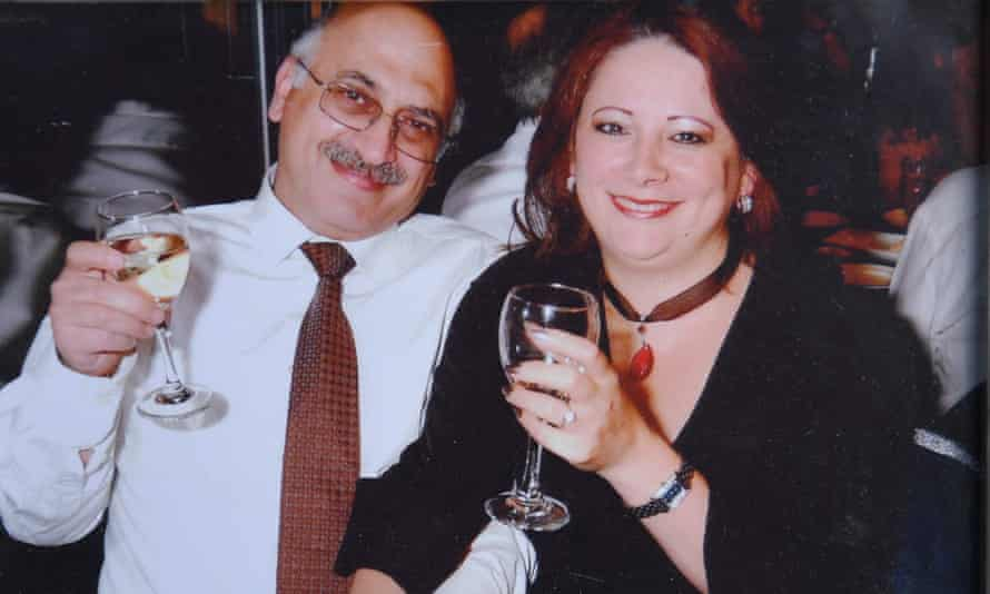 Anoosheh Ashoori  and his wife, Sherry
