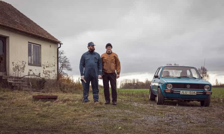 Lars Schilken and Anders Beckman in The Hunt for a Killer.