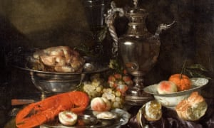 The McManus in Dundee. Still Life with a Lobster, Fruit, Silver and China Ware', c.1660, Abraham van Beyeren (1620/1621-1690), Dundee Art Galleries and Museums Collection (Dundee City Council)