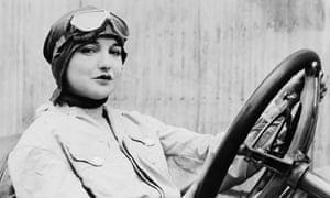 A female driver, early 20th century.