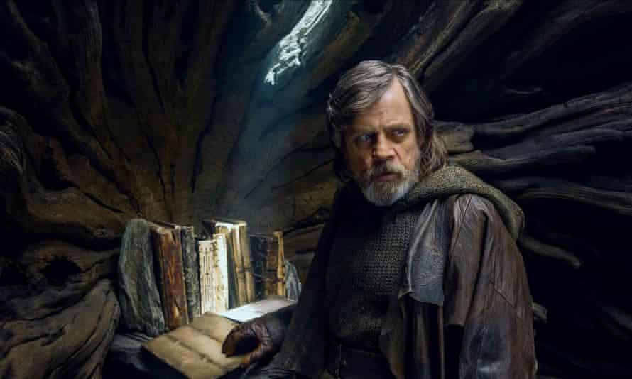 Mark Hamill in The Last Jedi.