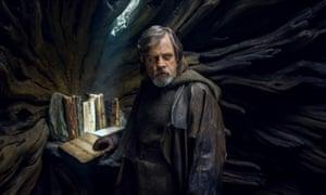 Mark Hamill in Star Wars: The Last Jedi.