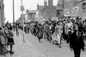 African Liberation Day march through Handsworth in 1977