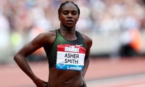 Dina Asher-Smith has high hopes heading into the European Athletics Championships.