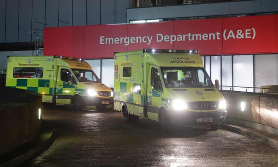 Official NHS data shows that ambulance queues have hit record levels.