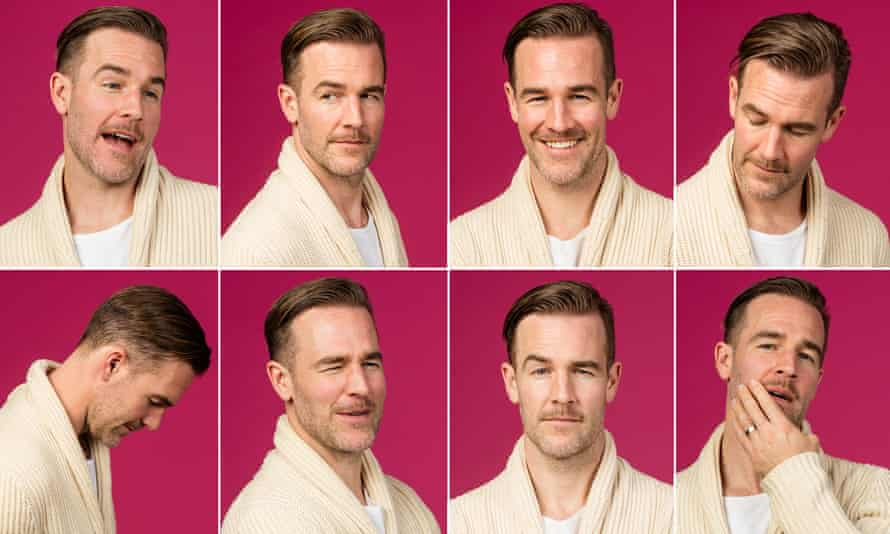 'I'm having more fun doing comedy that I would crying every day' … James Van Der Beek, star of What Would Diplo Do?
