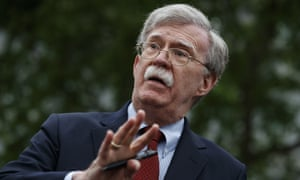 John Bolton reportedly claims in his new book that Donald Trump told him to keep withholding nearly $400m in aid to Ukraine until Kyiv helped investigate the president's political rivals.