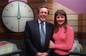 'One of the simplest pieces of music I've ever written in my life' … Richard Whiteley and Carol Vorderman on Countdown.