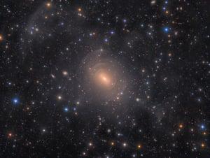 Shells of Elliptical Galaxy NGC 3923 in Hydra by Rolf Wahl Olsen