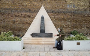A war memorial dedicated to the soldiers from Africa and the Caribbean who fought for the British at Windrush Square in Brixton.