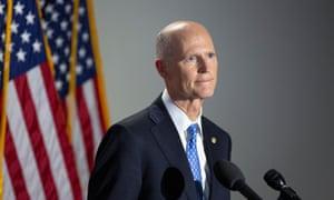 Former Florida governor Rick Scott.