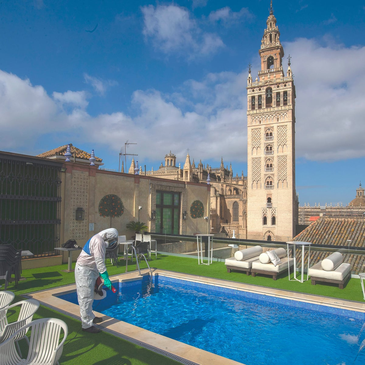 Hotels In Spain Reopen With New Covid 19 Measures But No Guests Spain Holidays The Guardian