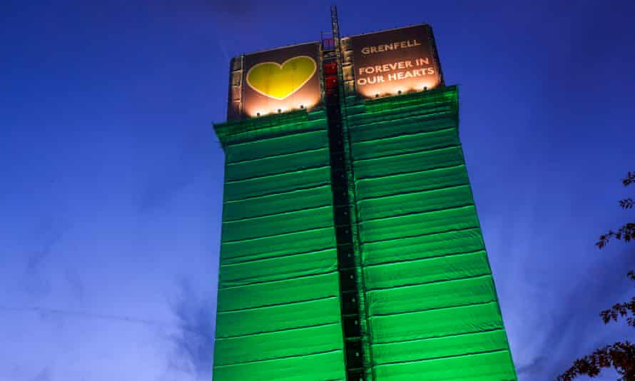 Grenfell Tower in North Kensington, London.