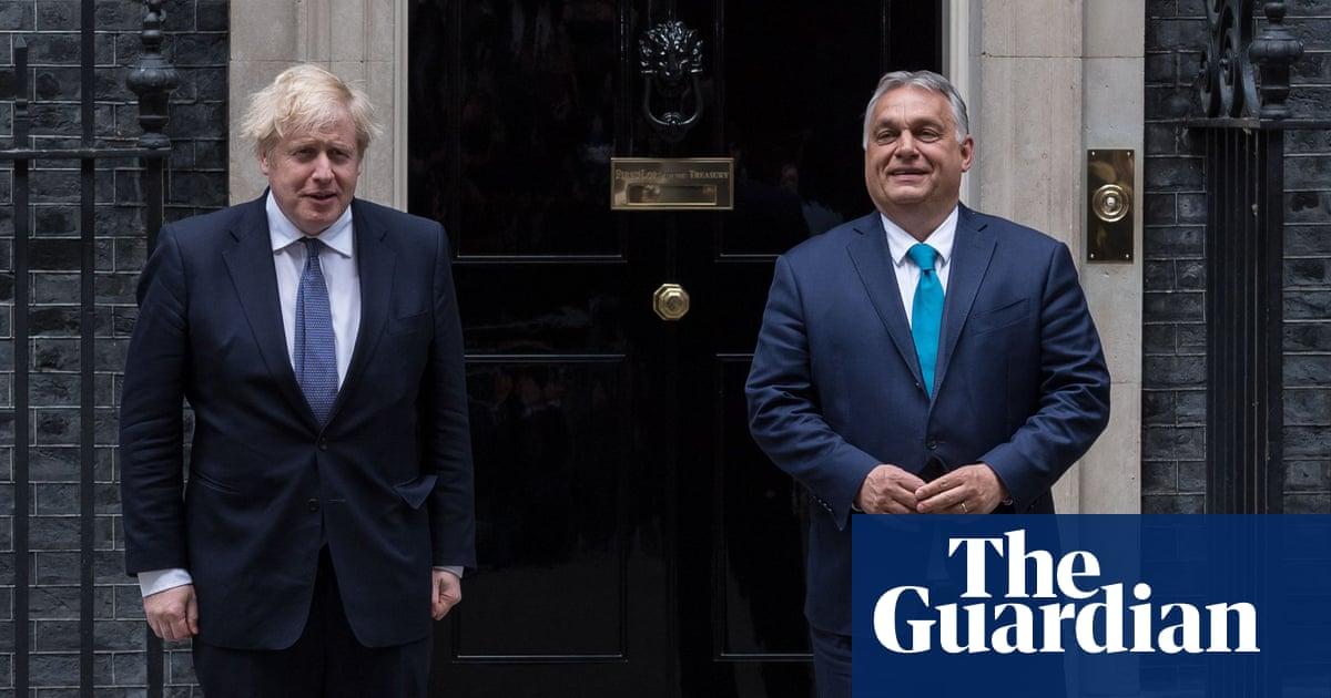 Boris Johnson raised human rights issues at Orbán meeting, says No 10