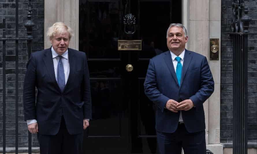 Boris Johnson raised human rights issues at Orbán meeting, says No 10 | Boris Johnson | The Guardian