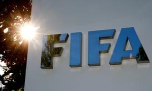 Fifa headquarters in glorious sunshine.