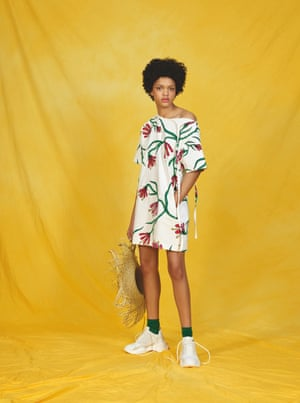 Making waves Petit Bateau and Dutch brand Botter have got together to create a fun adult collection, including prints of bold graphic imaginary plants undulating like seaweed. Prices from £49 for a T-shirt, petit-bateau.co.uk