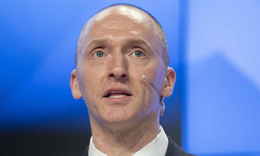 Carter Page, an energy consultant named by Trump as a foreign policy adviser, has been told to provide a list of all meetings with 'any Russian official or representative'.