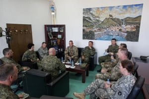 US and Kosovan military officials meet in Ferizaj