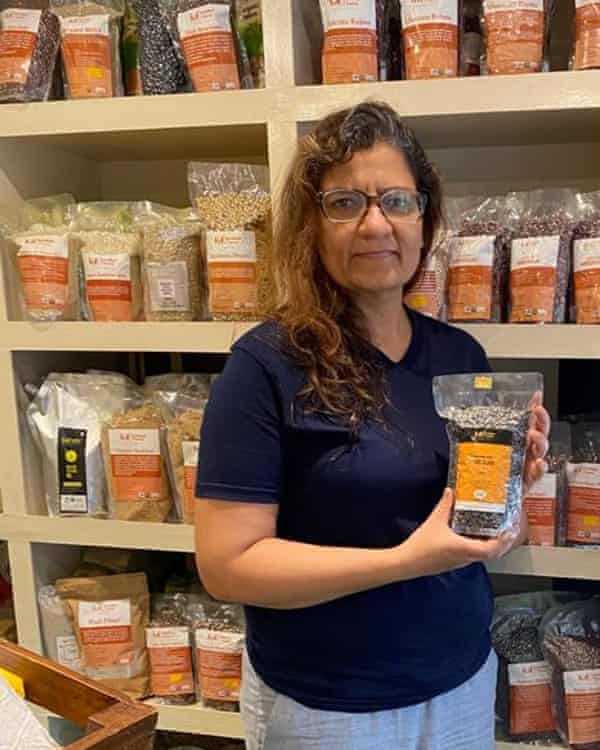 Babita Bhatt left a career in software to launch her own business in natural products grown in the Himalayas.