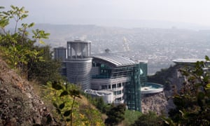 The residence of Georgian billionaire Bidzina Ivanishvili cost £30m and features a banqueting hall and a private zoo.