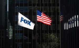 Fox corporate headquarters in New York City.