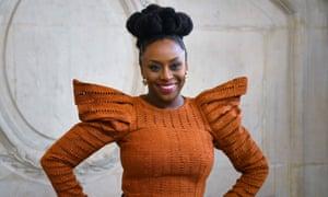 Chimamanda Ngozi Adichie pictured in Paris in January.
