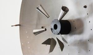 Probing reality … Radar (1960) by Takis.