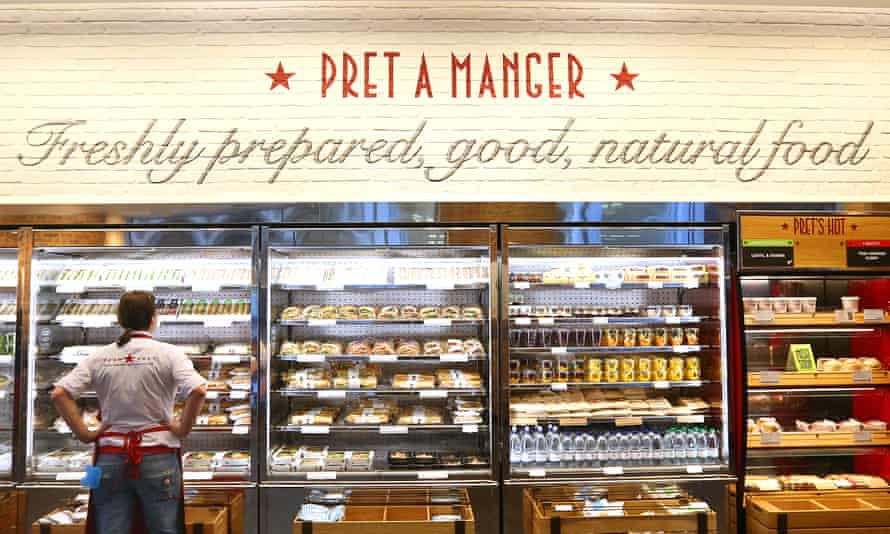 Chilled-out: Pret's Christmas sandwiches are the best veggie ones this year.