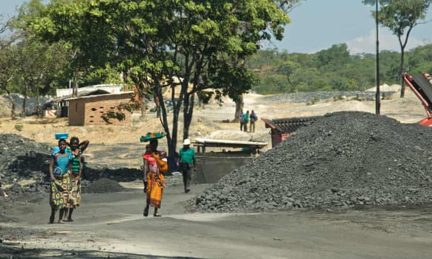 A mine in Kayelekera