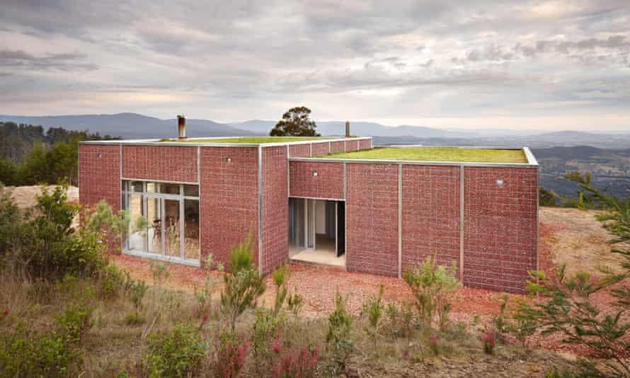 Joost Bakker's bushfire-proof house in Kinglake, Victoria.
