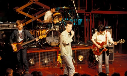 The Smiths performing live on The Tube