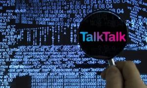 Searching for computer virus. TalkTalk