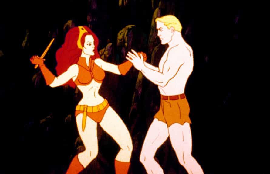 70s animation The New Adventures of Flash Gordon
