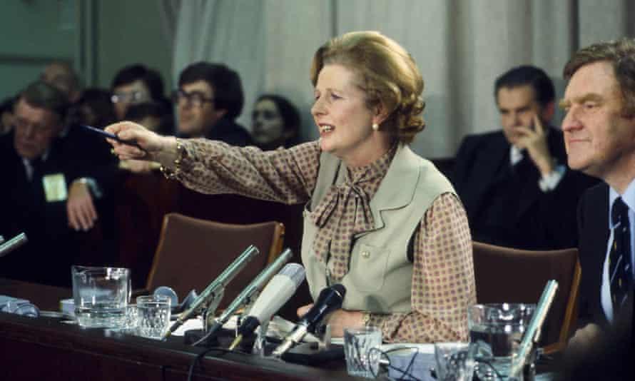 Margaret Thatcher, circa 1980