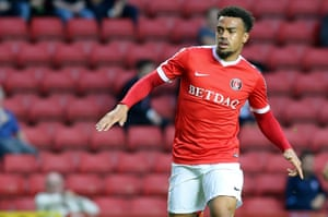 Nicky Ajose is one of the new faces at Charlton Athletic this season.