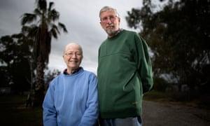 Retired Farmers Brian and Cynthia Tomlin