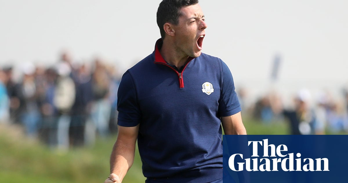 Rory McIlroy: 'It's becoming tougher to win the Ryder Cup on the road'