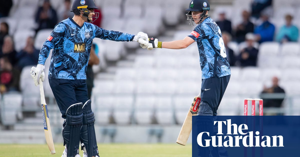 County cricket talking points: Yorkshire youngsters excel in Blast