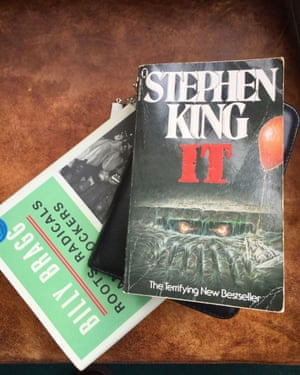 An old  paperback edition of It..