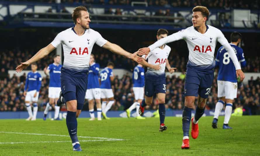 Harry Kane and Dele Alli were both on the scoresheet during Tottenham's demolition of Everton.
