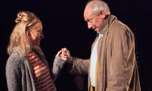 Fantasy relationship … Joanna Bending and Rupert Wickham in Imaginationship.