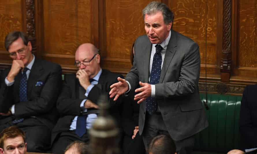 Oliver Letwin speaking as an independent MP in the Commons on 19 October, 2019, during a crucial debate on the Brexit deal.