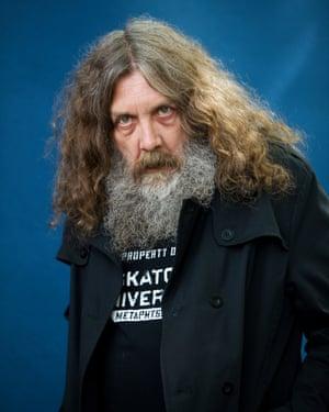 Don't mess … Watchmen creator Alan Moore