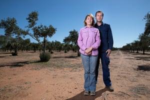 Karen McLennan and her son Michael McLennan.