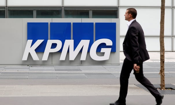 KPMG to fine staff £100 for late time sheets | Business | The Guardian