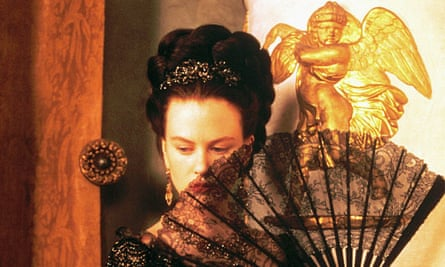 Nicole Kidman as Isabel Archer in The Portrait of a Lady (1996).